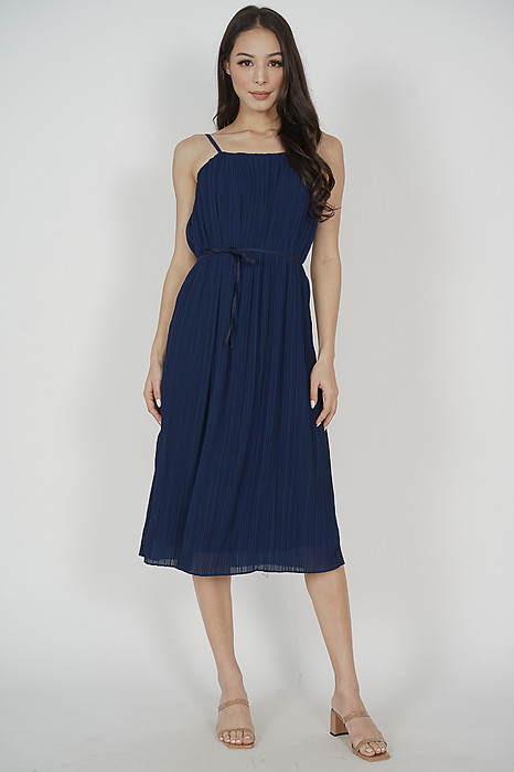 Gerald Cami Dress in Midnight