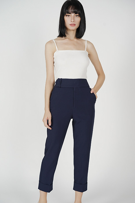 Zakari Straight Pants in Midnight