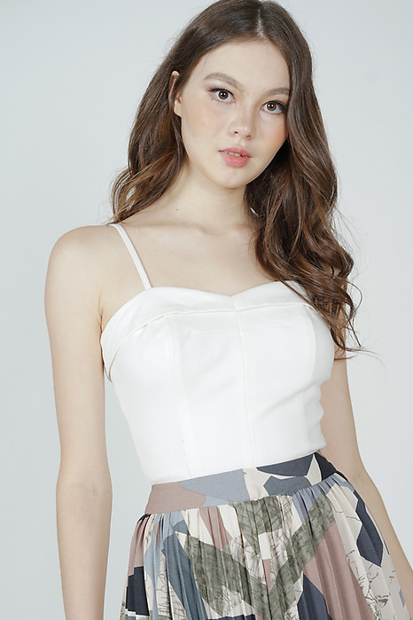 Haldis Cami Top in White